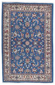 Kashmar Matto 105X160 Itämainen Käsinsolmittu Vaaleanharmaa/Tummansininen (Villa, Persia/Iran)