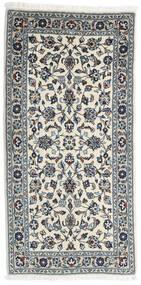 Keshan Matto 70X141 Itämainen Käsinsolmittu Tummanharmaa/Vaaleanharmaa/Beige (Villa, Persia/Iran)