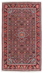 Bidjar Matto 84X134 Itämainen Käsinsolmittu Tummanruskea/Tummanpunainen (Villa, Persia/Iran)