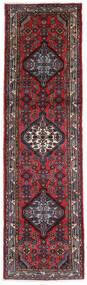 Hamadan Matto 80X270 Itämainen Käsinsolmittu Käytävämatto Tummanruskea/Tummanpunainen (Villa, Persia/Iran)