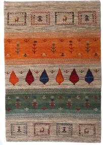 Loribaft Persia Matto 105X154 Moderni Käsinsolmittu Vaaleanharmaa/Tummanharmaa (Villa, Persia/Iran)