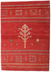 Loribaft Persia Matto 102X144 Moderni Käsinsolmittu Ruoste/Tummanpunainen (Villa, Persia/Iran)