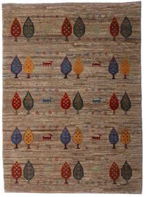 Loribaft Persia Matto 107X146 Moderni Käsinsolmittu Ruskea/Tummanruskea (Villa, Persia/Iran)