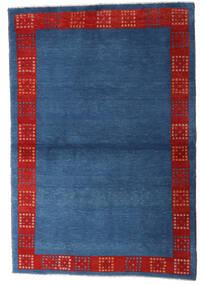 Loribaft Persia Matto 98X145 Moderni Käsinsolmittu Tummansininen/Sininen (Villa, Persia/Iran)