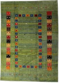 Loribaft Persia Matto 210X291 Moderni Käsinsolmittu Oliivinvihreä/Tummanvihreä (Villa, Persia/Iran)