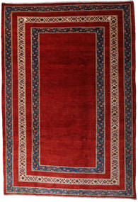 Loribaft Persia Matto 213X310 Moderni Käsinsolmittu Tummanpunainen/Ruoste (Villa, Persia/Iran)