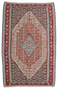Kelim Senneh Matto 160X246 Itämainen Käsinkudottu Vaaleanharmaa/Tummanharmaa (Villa, Persia/Iran)