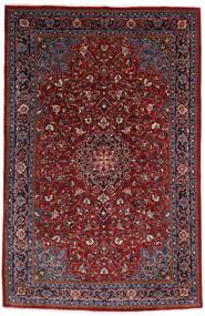 Mahal Matto 210X322 Itämainen Käsinsolmittu Tummanpunainen/Tummanruskea (Villa, Persia/Iran)