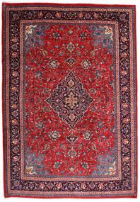 Mahal Matto 225X327 Itämainen Käsinsolmittu Punainen/Tummanvioletti (Villa, Persia/Iran)