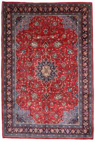Mahal Matto 220X330 Itämainen Käsinsolmittu Tummanvioletti/Tummanpunainen (Villa, Persia/Iran)