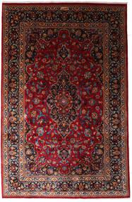 Mashad Matto 197X300 Itämainen Käsinsolmittu Tummanpunainen (Villa, Persia/Iran)
