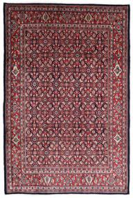 Sarough Matto 215X322 Itämainen Käsinsolmittu Tummanpunainen/Tummanruskea (Villa, Persia/Iran)