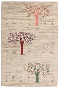 Loribaft Persia Matto 100X149 Moderni Käsinsolmittu Vaaleanharmaa/Beige (Villa, Persia/Iran)