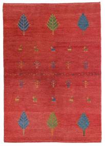 Loribaft Persia Matto 103X147 Moderni Käsinsolmittu Ruoste/Tummanpunainen (Villa, Persia/Iran)