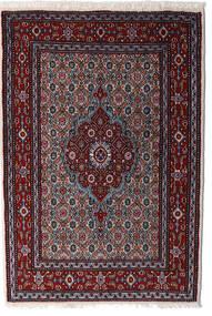 Moud Matto 80X120 Itämainen Käsinsolmittu Tummanpunainen (Villa/Silkki, Persia/Iran)