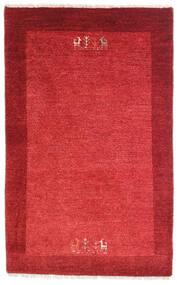 Loribaft Persia Matto 79X128 Moderni Käsinsolmittu Punainen/Ruoste (Villa, Persia/Iran)
