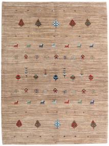 Loribaft Persia Matto 158X212 Moderni Käsinsolmittu Vaaleanruskea/Ruskea (Villa, Persia/Iran)