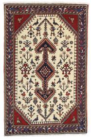 Ghashghai Matto 80X126 Itämainen Käsinsolmittu Tummanruskea/Beige (Villa, Persia/Iran)
