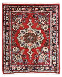 Hamadan Shahrbaf Matto 65X80 Itämainen Käsinsolmittu Ruoste/Tummanruskea (Villa, Persia/Iran)