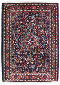 Hamadan Shahrbaf Matto 72X100 Itämainen Käsinsolmittu Tummanvioletti/Tummanpunainen (Villa, Persia/Iran)
