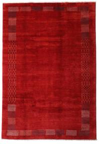 Loribaft Persia Matto 202X294 Moderni Käsinsolmittu Ruoste/Tummanpunainen (Villa, Persia/Iran)