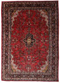 Hamadan Shahrbaf Matto 203X290 Itämainen Käsinsolmittu Tummanpunainen/Tummanruskea (Villa, Persia/Iran)