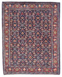 Sarough Matto 66X83 Itämainen Käsinsolmittu Tummanvioletti/Tummanharmaa (Villa, Persia/Iran)