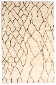 Moroccan Berber - Afghanistan Matto 187X294 Moderni Käsinsolmittu Beige/Vaaleanpunainen (Villa, Afganistan)