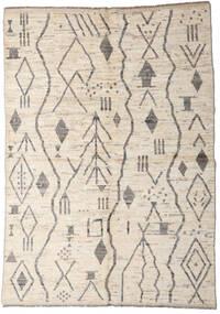 Moroccan Berber - Afghanistan Matto 167X234 Moderni Käsinsolmittu Vaaleanharmaa/Beige (Villa, Afganistan)
