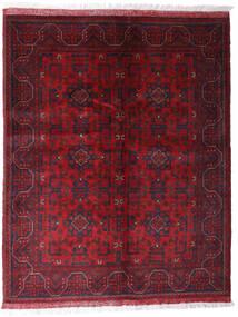 Afghan Khal Mohammadi Matto 152X191 Itämainen Käsinsolmittu Tummanpunainen/Tummanruskea (Villa, Afganistan)