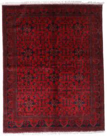 Afghan Khal Mohammadi Matto 174X220 Itämainen Käsinsolmittu Tummanpunainen/Punainen (Villa, Afganistan)