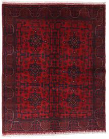 Afghan Khal Mohammadi Matto 148X187 Itämainen Käsinsolmittu Tummanpunainen/Punainen (Villa, Afganistan)