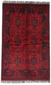 Afghan Khal Mohammadi Matto 122X194 Itämainen Käsinsolmittu Tummanpunainen/Punainen (Villa, Afganistan)