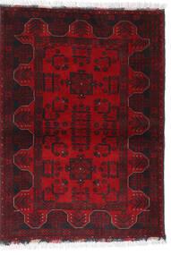 Afghan Khal Mohammadi Matto 102X140 Itämainen Käsinsolmittu Tummanpunainen/Tummanruskea/Punainen (Villa, Afganistan)