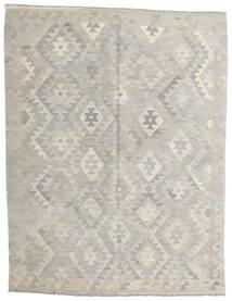 Kelim Afghan Old Style Matto 158X206 Itämainen Käsinkudottu Vaaleanharmaa/Tummanbeige (Villa, Afganistan)