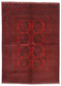 Afghan Matto 172X240 Itämainen Käsinsolmittu Tummanpunainen/Tummanruskea (Villa, Afganistan)