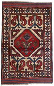 Kelim Golbarjasta Matto 90X147 Itämainen Käsinkudottu Tummanpunainen/Tummansininen (Villa, Afganistan)