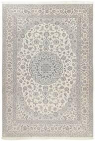 Nain 6La Matto 241X340 Itämainen Käsinsolmittu Vaaleanharmaa/Tummanbeige (Villa/Silkki, Persia/Iran)
