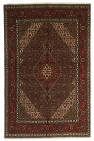 Tabriz 40 Raj Matto 200X300 Itämainen Käsinsolmittu Tummanruskea/Ruskea (Villa/Silkki, Persia/Iran)
