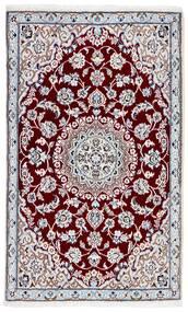 Nain 9La Matto 89X140 Itämainen Käsinsolmittu Beige/Vaaleanvioletti (Villa/Silkki, Persia/Iran)