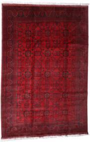 Afghan Khal Mohammadi Matto 203X301 Itämainen Käsinsolmittu Tummanpunainen/Punainen (Villa, Afganistan)