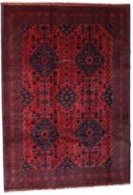 Afghan Khal Mohammadi Matto 203X288 Itämainen Käsinsolmittu Tummanpunainen (Villa, Afganistan)