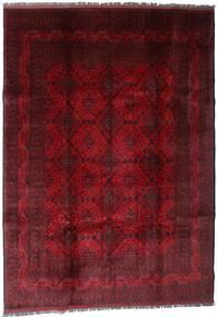 Afghan Khal Mohammadi Matto 207X289 Itämainen Käsinsolmittu Tummanpunainen/Tummanruskea (Villa, Afganistan)