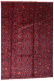 Afghan Khal Mohammadi Matto 198X296 Itämainen Käsinsolmittu Tummanpunainen/Punainen (Villa, Afganistan)