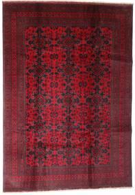 Afghan Khal Mohammadi Matto 202X290 Itämainen Käsinsolmittu Tummanpunainen (Villa, Afganistan)