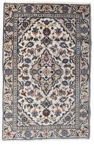 Keshan Matto 90X140 Itämainen Käsinsolmittu Vaaleanharmaa/Tummanharmaa (Villa, Persia/Iran)