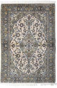 Keshan Matto 98X140 Itämainen Käsinsolmittu Vaaleanharmaa/Tummanharmaa (Villa, Persia/Iran)
