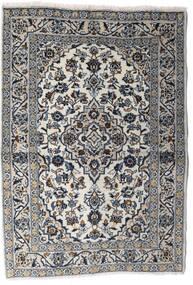 Keshan Matto 100X140 Itämainen Käsinsolmittu Vaaleanharmaa/Tummanharmaa (Villa, Persia/Iran)