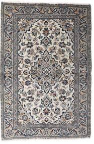 Keshan Matto 98X145 Itämainen Käsinsolmittu Vaaleanharmaa/Tummanharmaa (Villa, Persia/Iran)