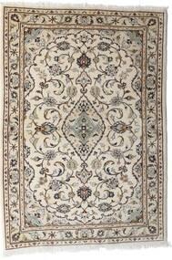 Keshan Matto 103X144 Itämainen Käsinsolmittu Vaaleanharmaa/Beige (Villa, Persia/Iran)
